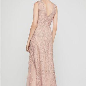 NWT BCBG Maxazria Sleeveless Lace Applique Gown
